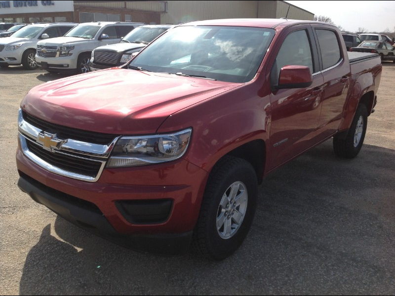 2016 Chevrolet Colorado Work Truck Crew Cab 2WD Short Box