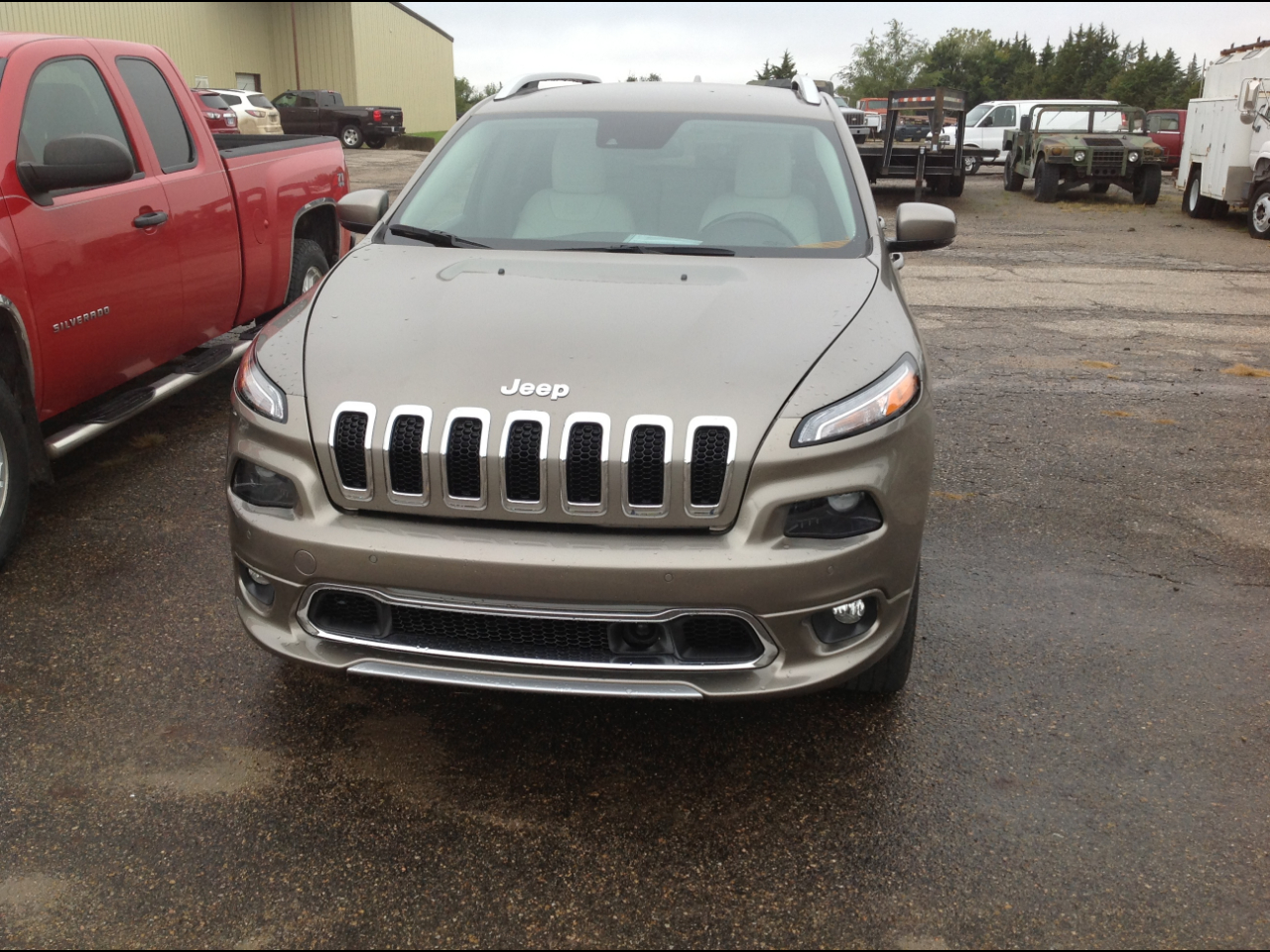 Jeep Cherokee 4WD 4dr Overland 2016