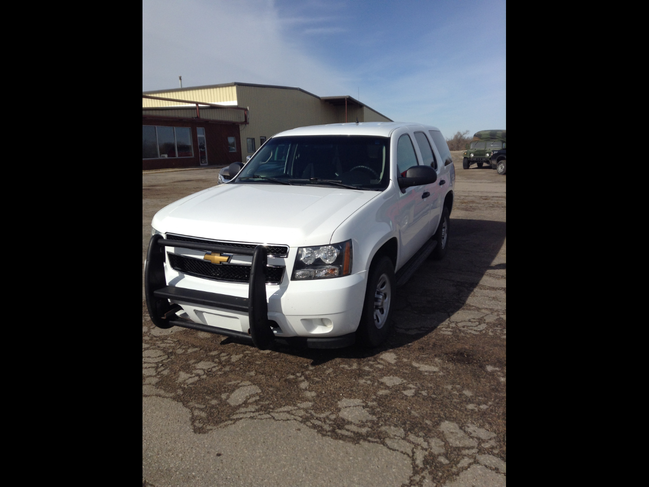 Chevrolet Tahoe 4WD 4dr 1500 Commercial 2012