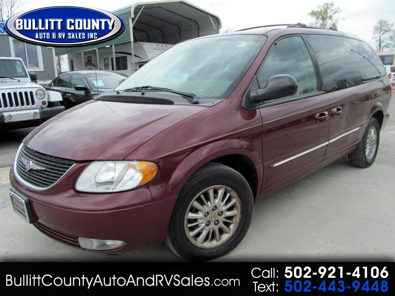 2002 Chrysler Town & Country 4dr Limited FWD