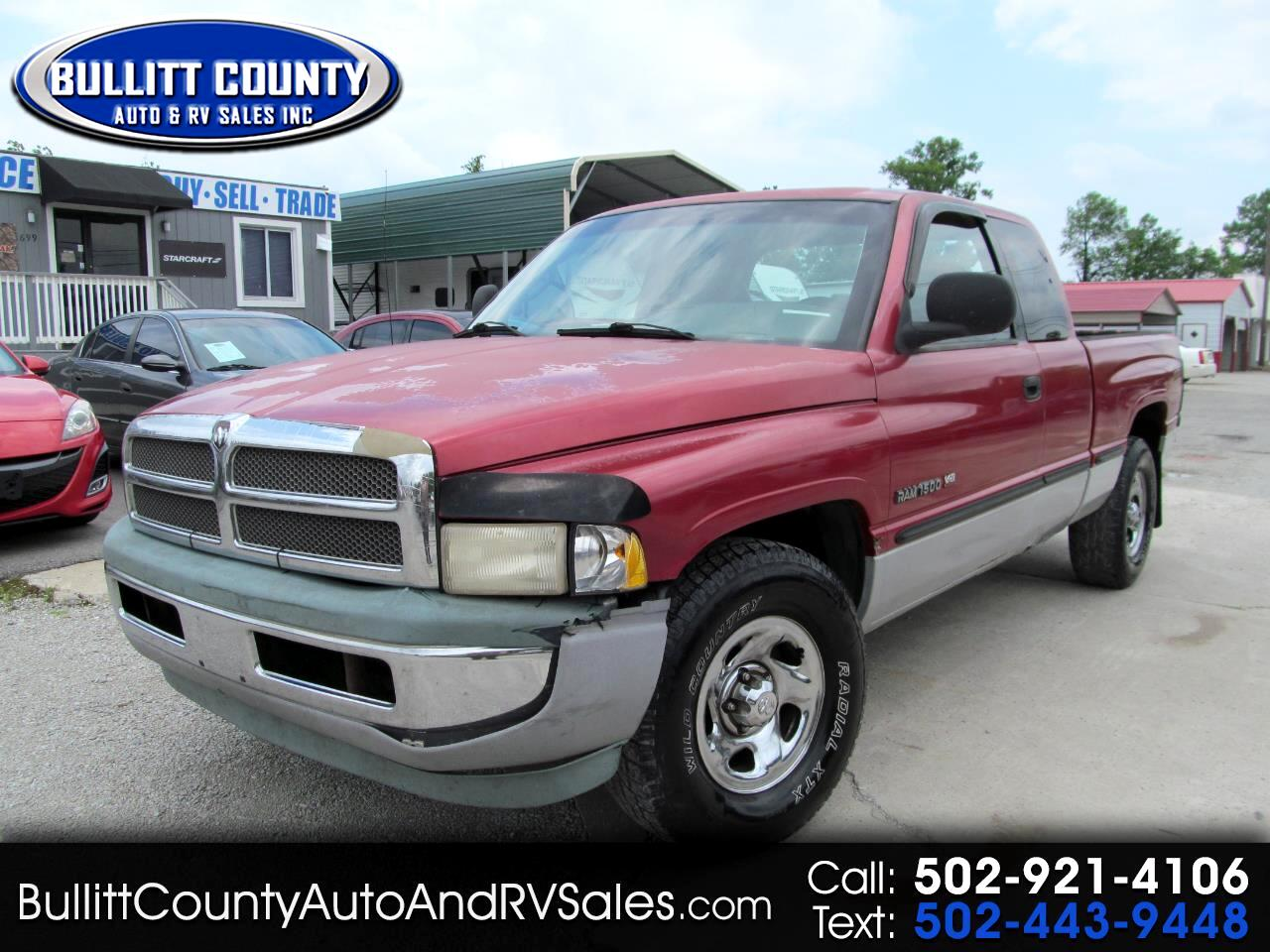 "1999 Dodge Ram 1500 2dr Club Cab 139"" WB"