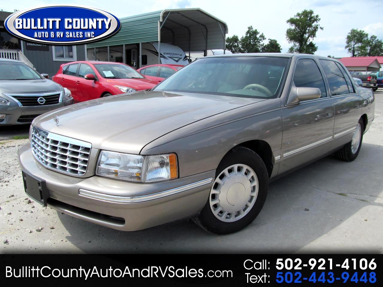 Cadillac DeVille 4dr Sdn 1999