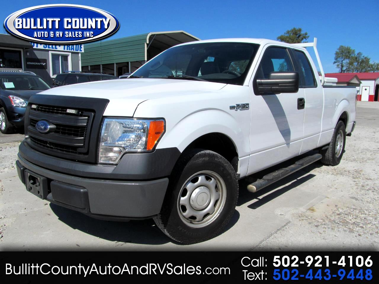 """2014 Ford F-150 2WD SuperCab 145"""" Lariat"""