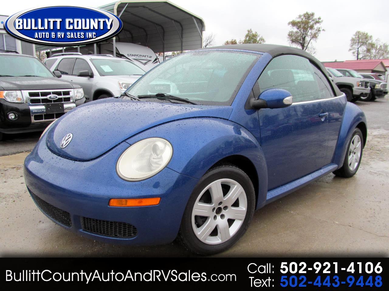 Volkswagen New Beetle Convertible 2dr Auto 2007