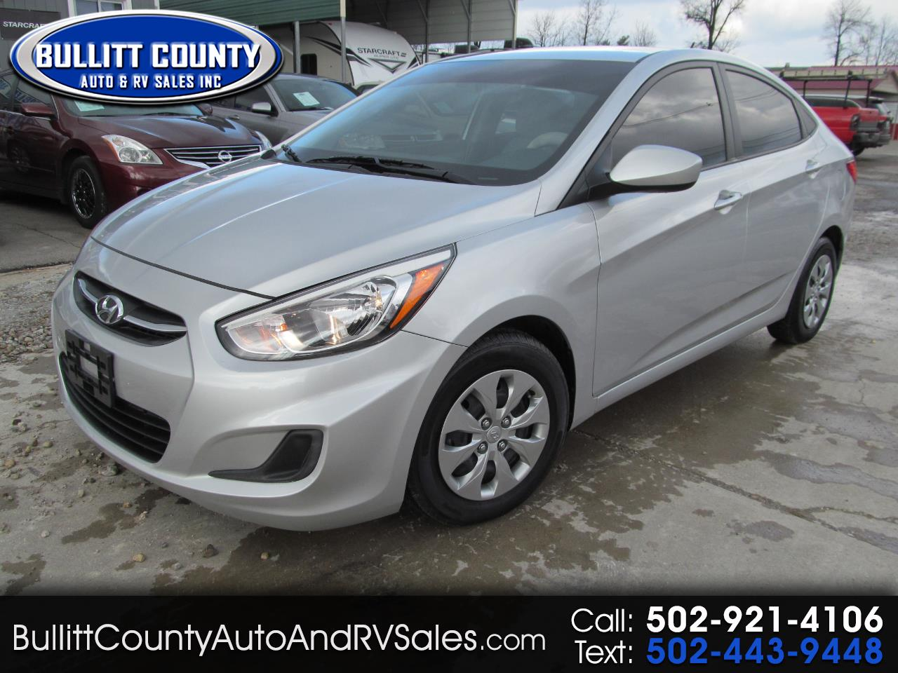 Hyundai Accent SE Sedan Auto 2017