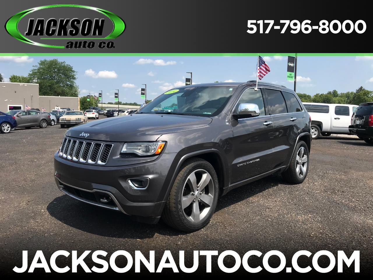 2014 Jeep Grand Cherokee 4WD 4dr Overland