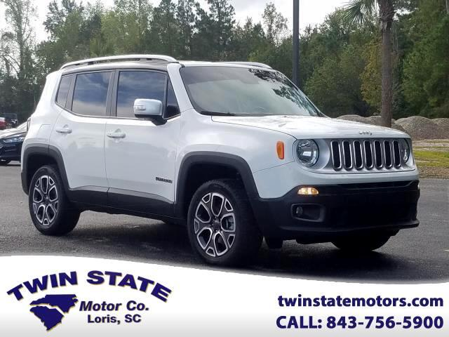 2017 Jeep Renegade Limited 4WD
