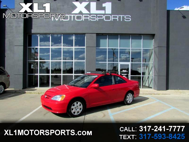 2005 Honda Civic EX Coupe w/ Front Side Airbags