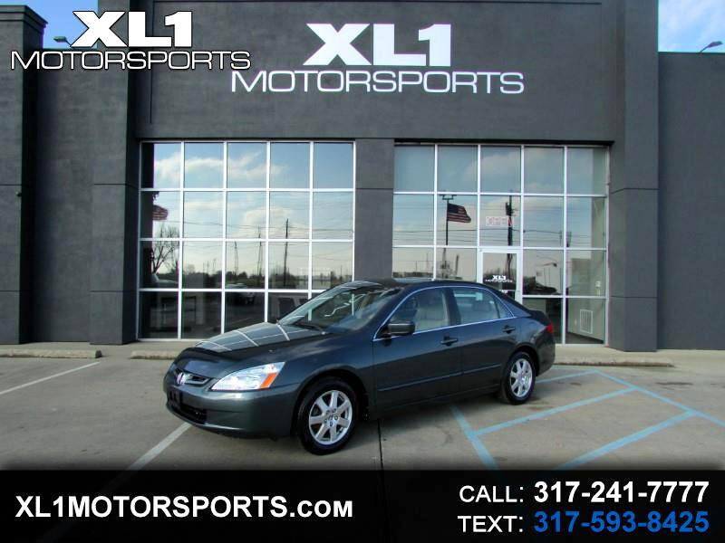 2005 Honda Accord EX Sedan AT w/ Leather and XM Radio