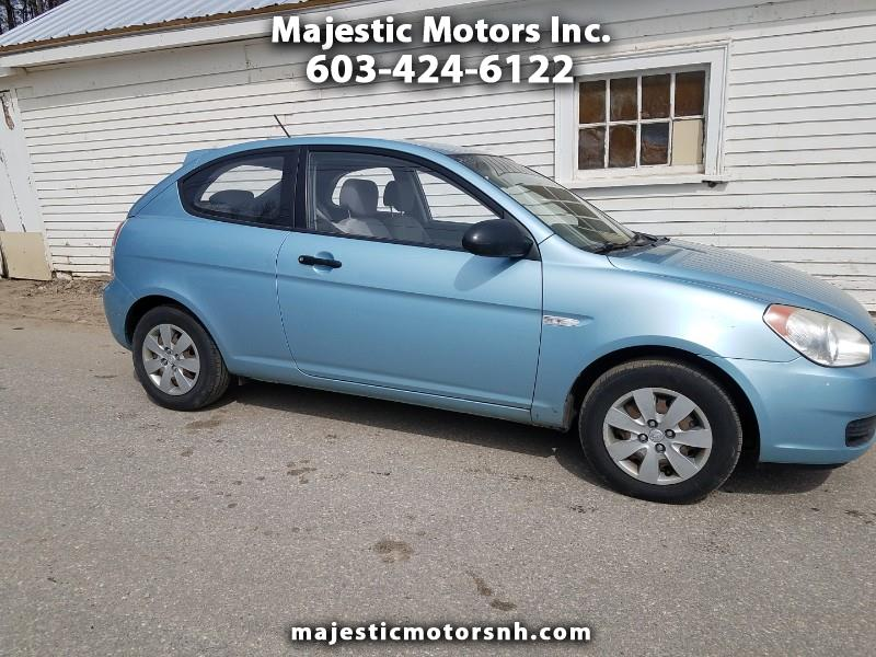 2008 Hyundai Accent 3dr HB Man Blue