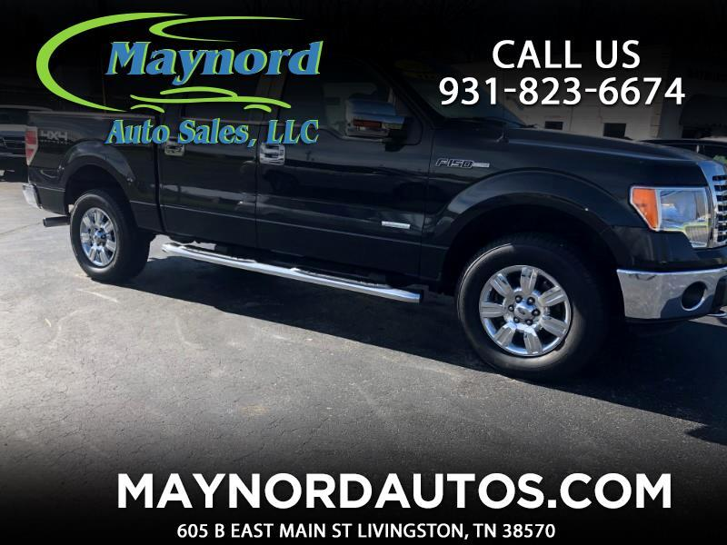 Ford F-150 XLT SuperCrew 5.5-ft. Bed 4WD 2012