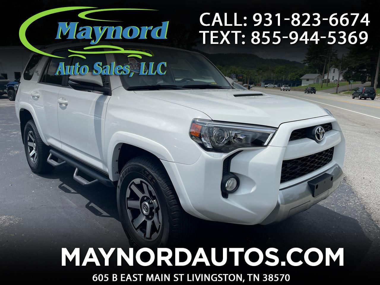 Toyota 4Runner Trail 4WD 2018