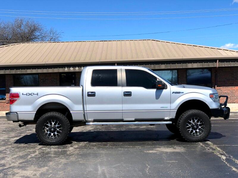 "2014 Ford F-150 Supercab 139"" 4WD XLT"