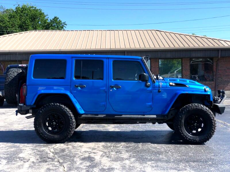 2015 Jeep Wrangler Unlimited Rubicon 4WD