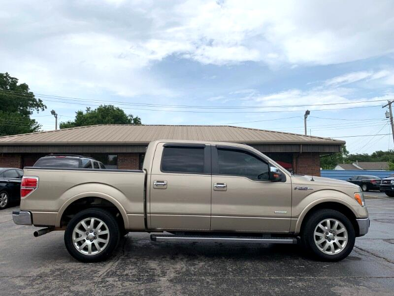 "Ford F-150 2WD Supercab 133"" Lariat 2012"