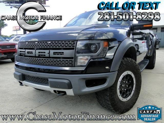 2013 Ford F-150 Raptor SuperCrew 4WD