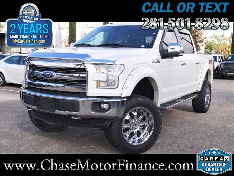 2015 Ford F-150 Lariat SuperCrew Short Bed 4WD