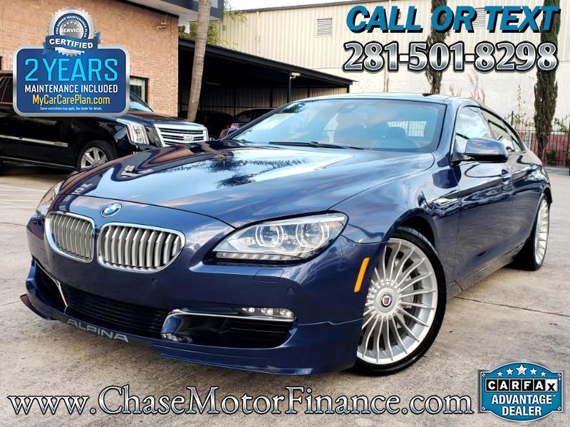 2015 BMW 6-Series Gran Coupe B6 Alpina