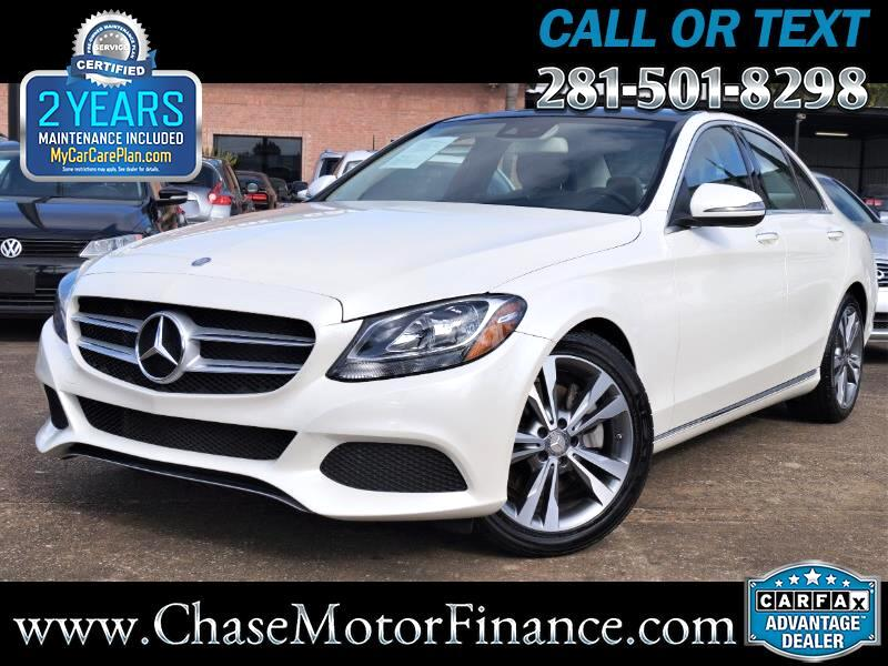 2016 Mercedes-Benz C-Class 4dr Sdn C300 Luxury RWD