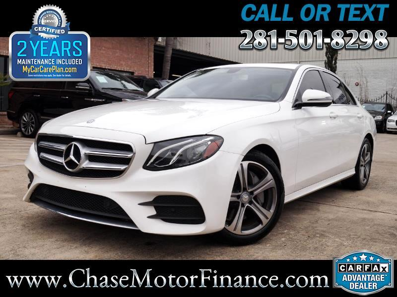 2017 Mercedes-Benz E-Class E300 Luxury Sedan