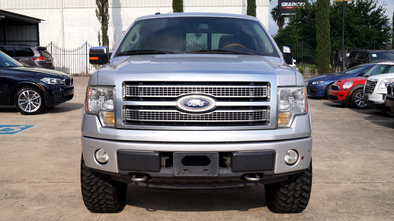 2010 Ford F-150 Platinum 4WD SuperCrew 6.5' Box