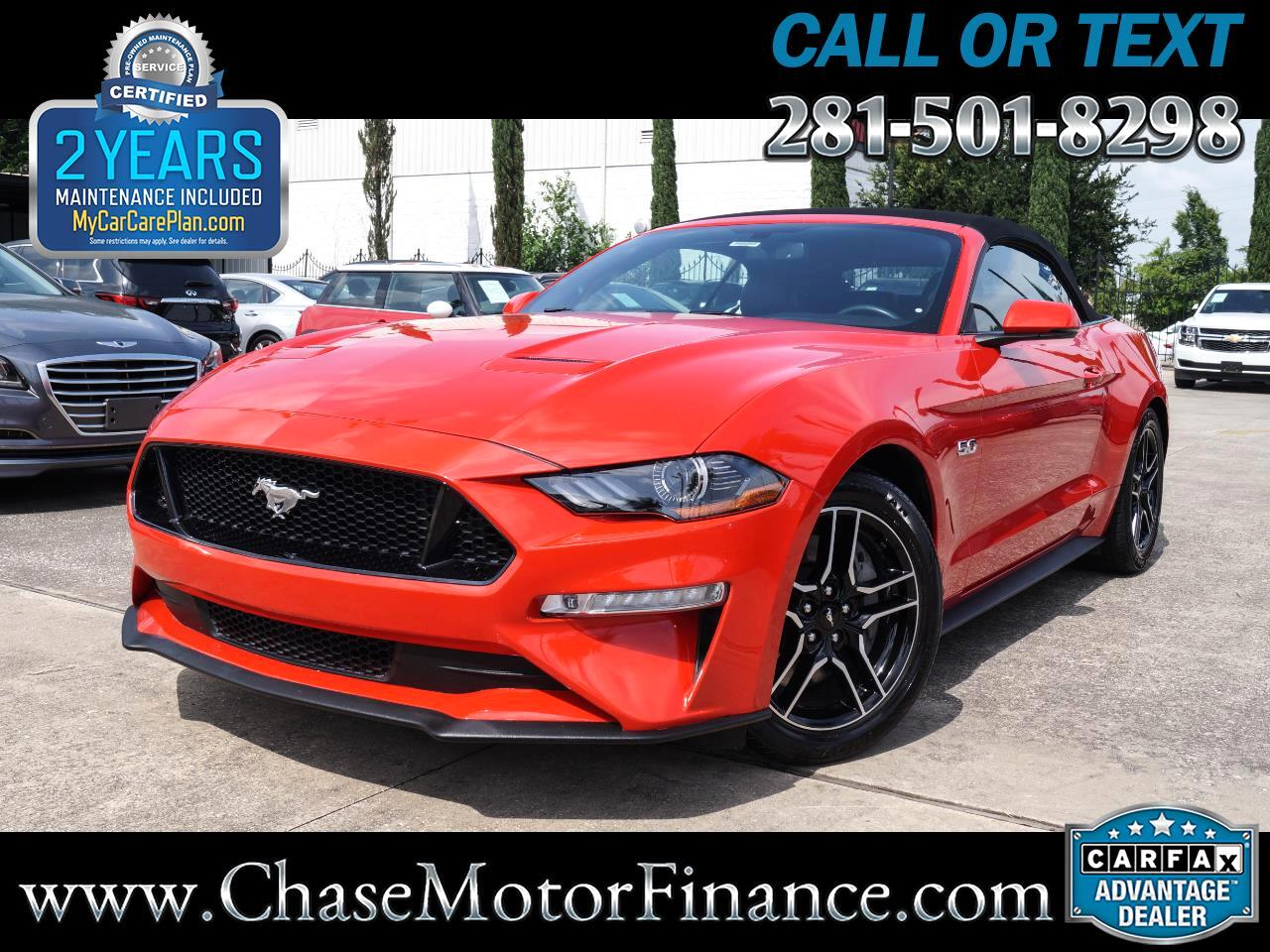 2018 Ford Mustang 2dr Convertible GT