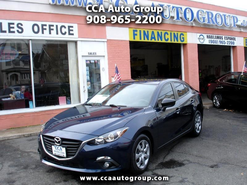 2015 Mazda MAZDA3 i SV AT 4-Door