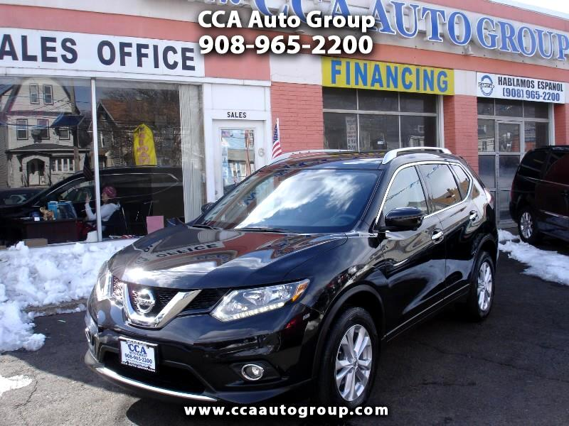 2016 Nissan Rogue SV AWD WITH NAVIGATION PREMIUM PACKAGE
