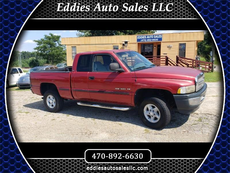 Dodge Ram 1500 Quad Cab 8-ft. Bed 4WD 1998