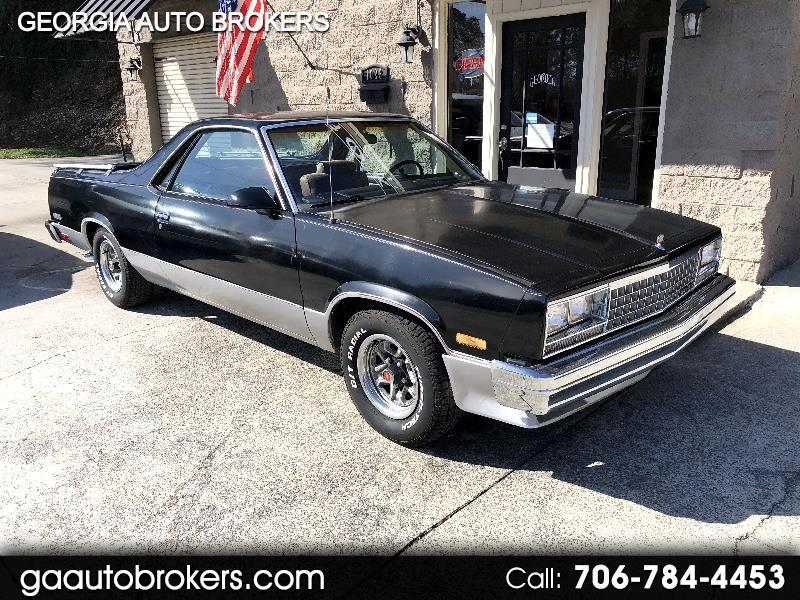 Chevrolet El Camino Base 1987