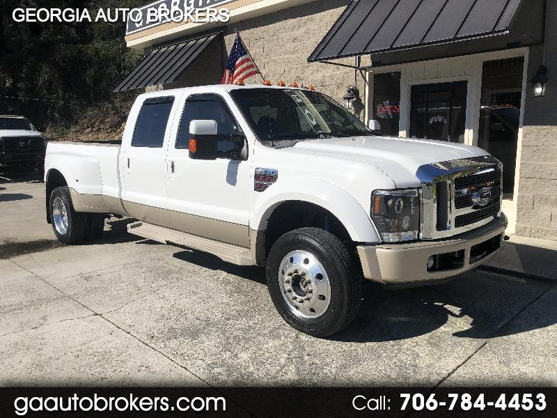 Ford F-450 SD King Ranch Crew Cab DRW 4WD 2008
