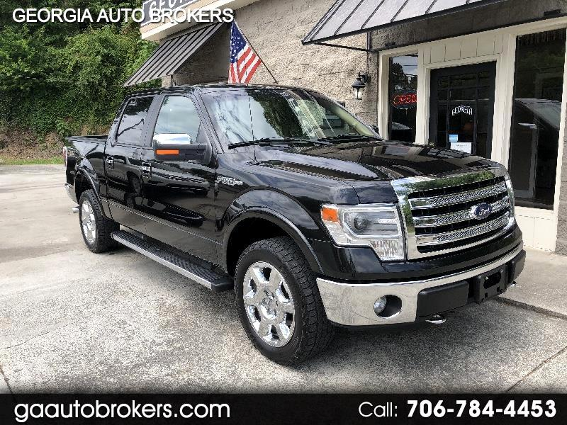 Ford F-150 Lariat 4WD SuperCrew 6.5' Box 2014