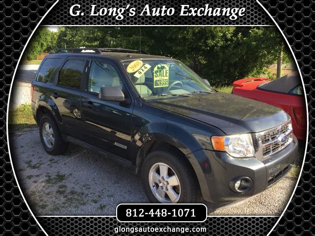 2008 Ford Escape XLT 4WD 2.3L