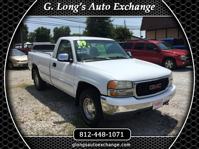 1999 GMC Sierra 1500 SLE Reg. Cab Long Bed 4WD