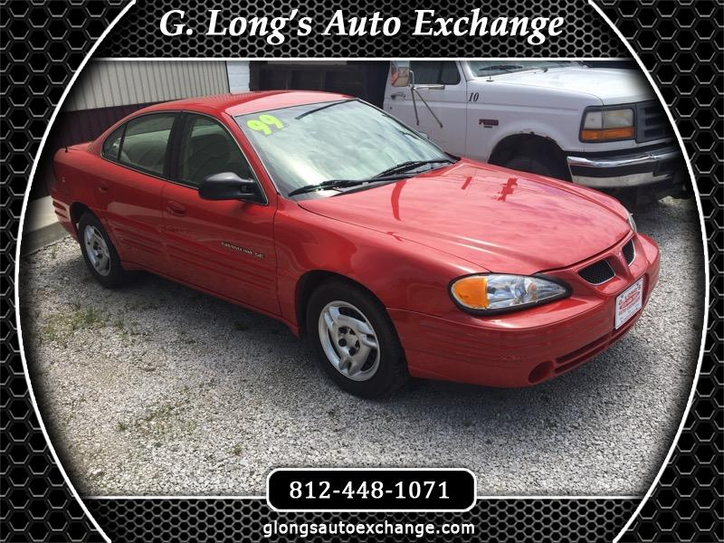 1999 Pontiac Grand Am SE Sedan