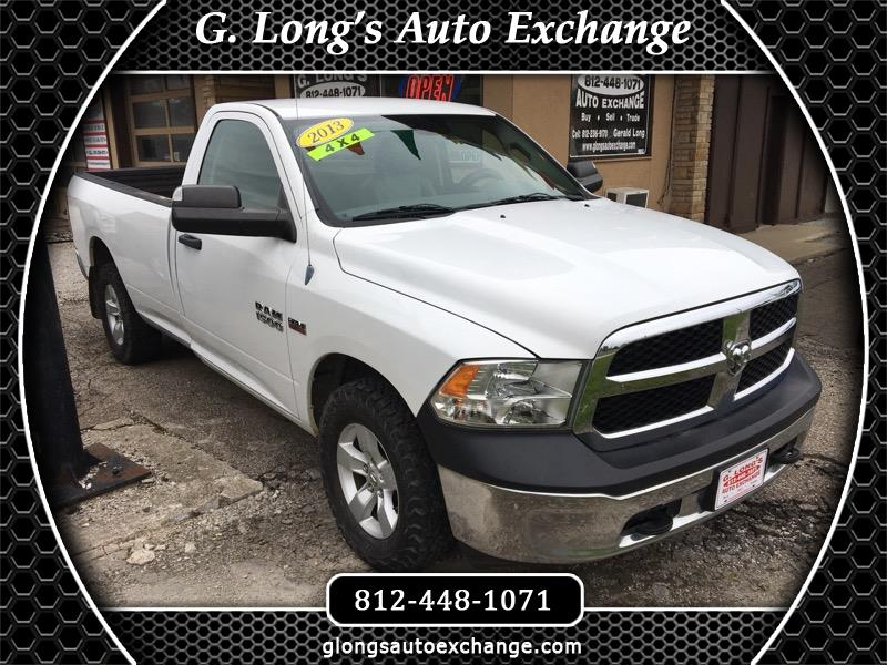 2013 RAM 1500 Tradesman 4x4 Regular Cab 8' Box