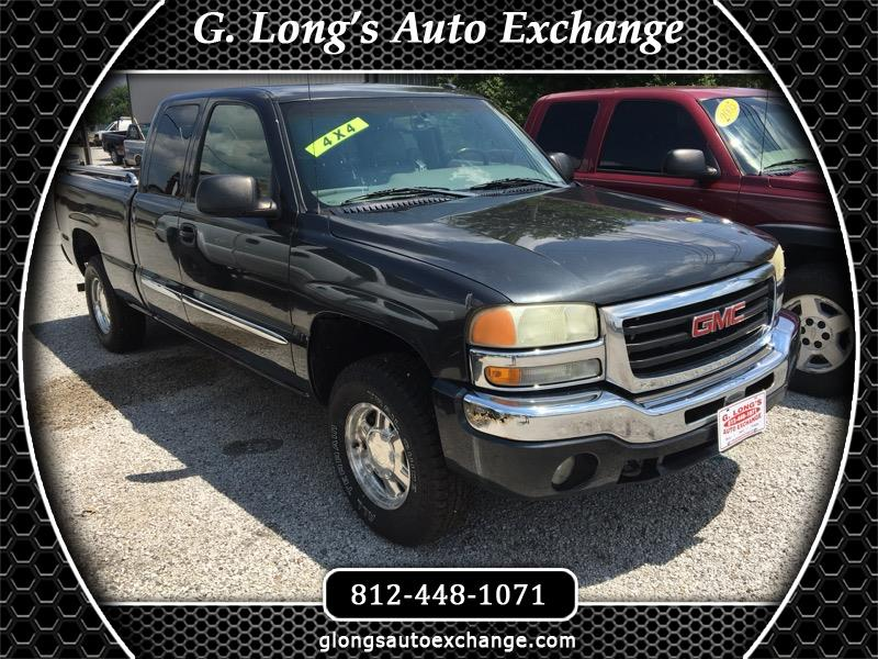 GMC Sierra 1500 Ext. Cab Short Bed 4WD 2003