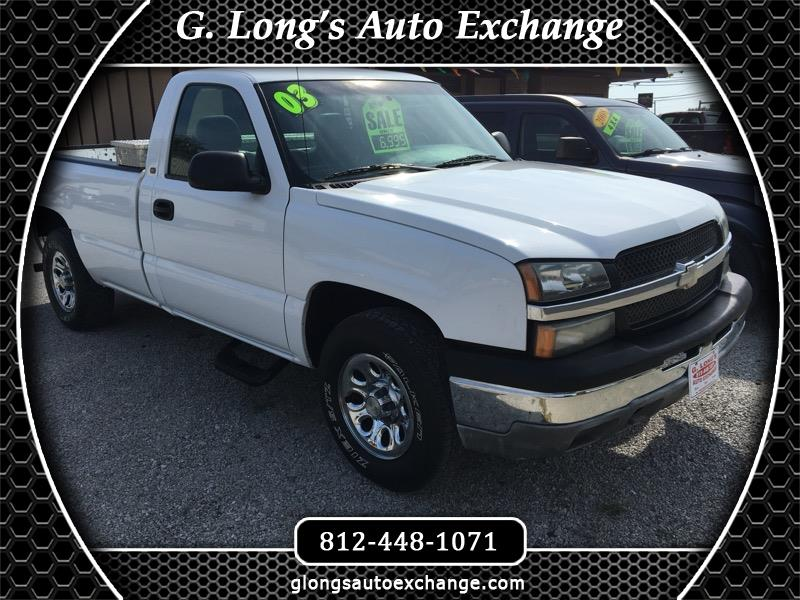 2003 Chevrolet Silverado 1500 Reg. Cab Long Bed 4WD
