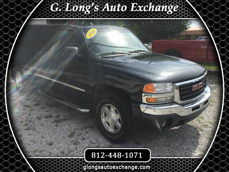 GMC Sierra 1500 SLE Ext. Cab 4-Door Short Bed 4WD 2004