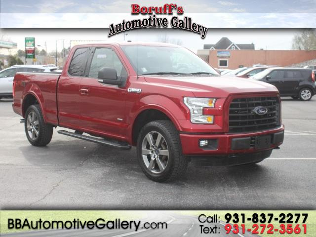 "2016 Ford F-150 4WD SuperCab 133"" FX4"