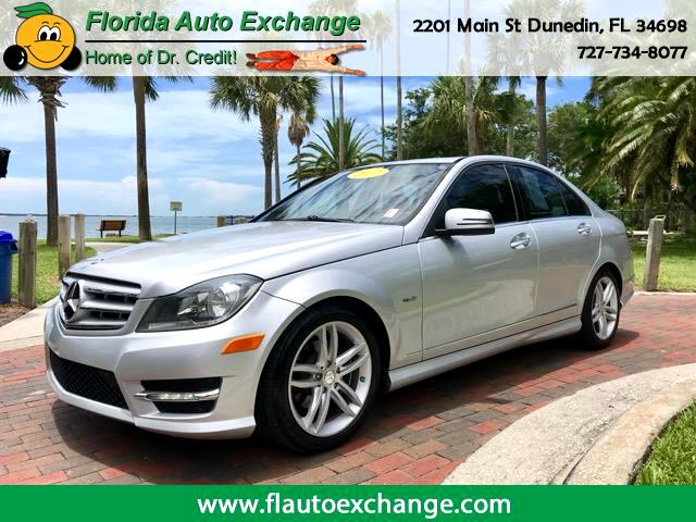2012 Mercedes-Benz C-Class 4DR SDN C250 LUXURY RWD