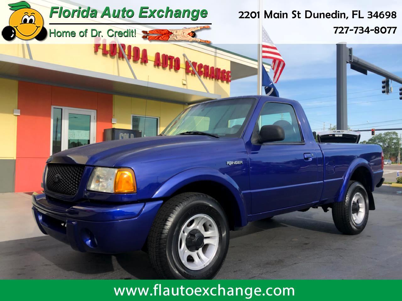 Ford Ranger Reg Cab 3.0L Edge 2003