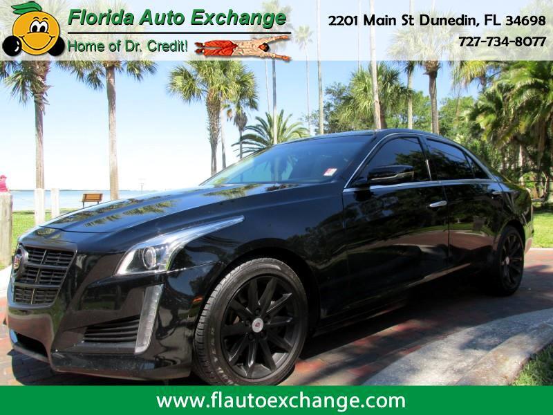 2014 Cadillac CTS 4DR SDN 2.0L TURBO RWD