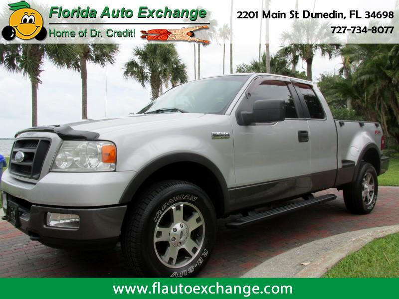 "2005 Ford F-150 SUPERCAB FLARESIDE 145"" F"