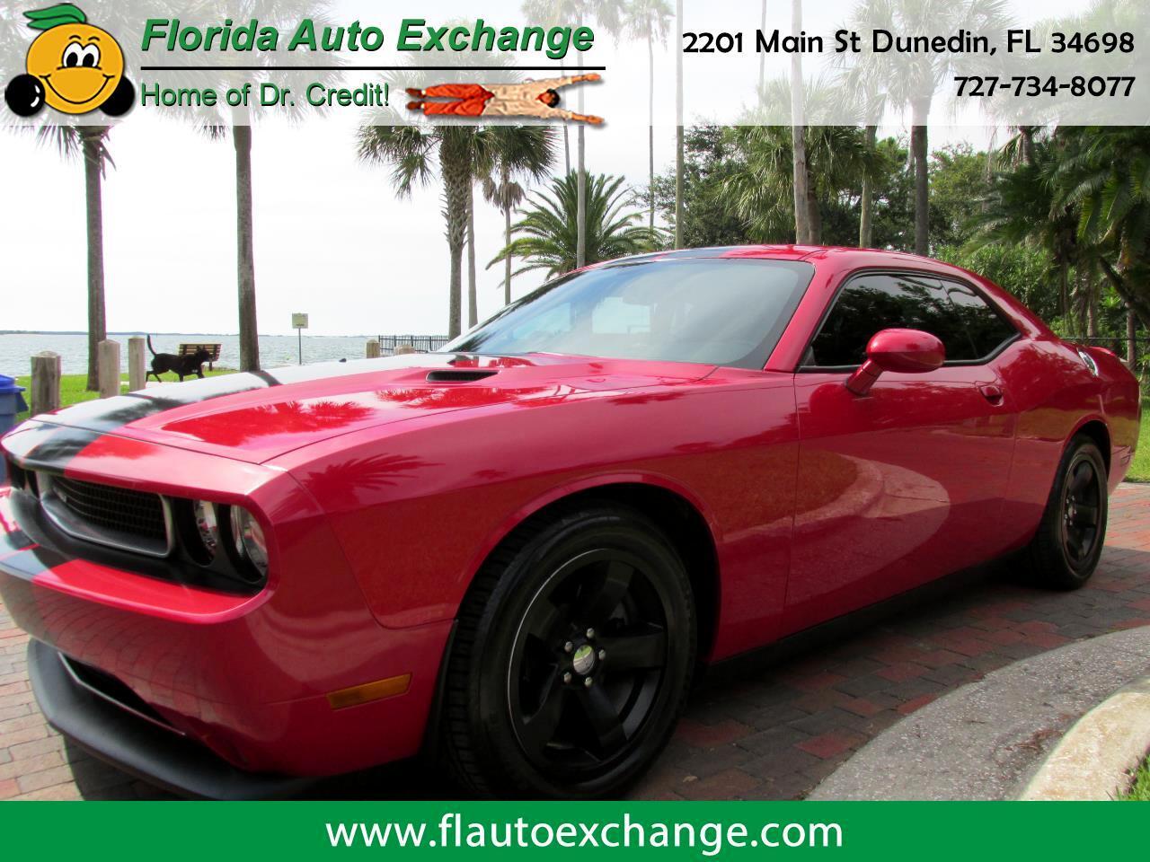 2013 Dodge Challenger 2DR CPE SXT PLUS