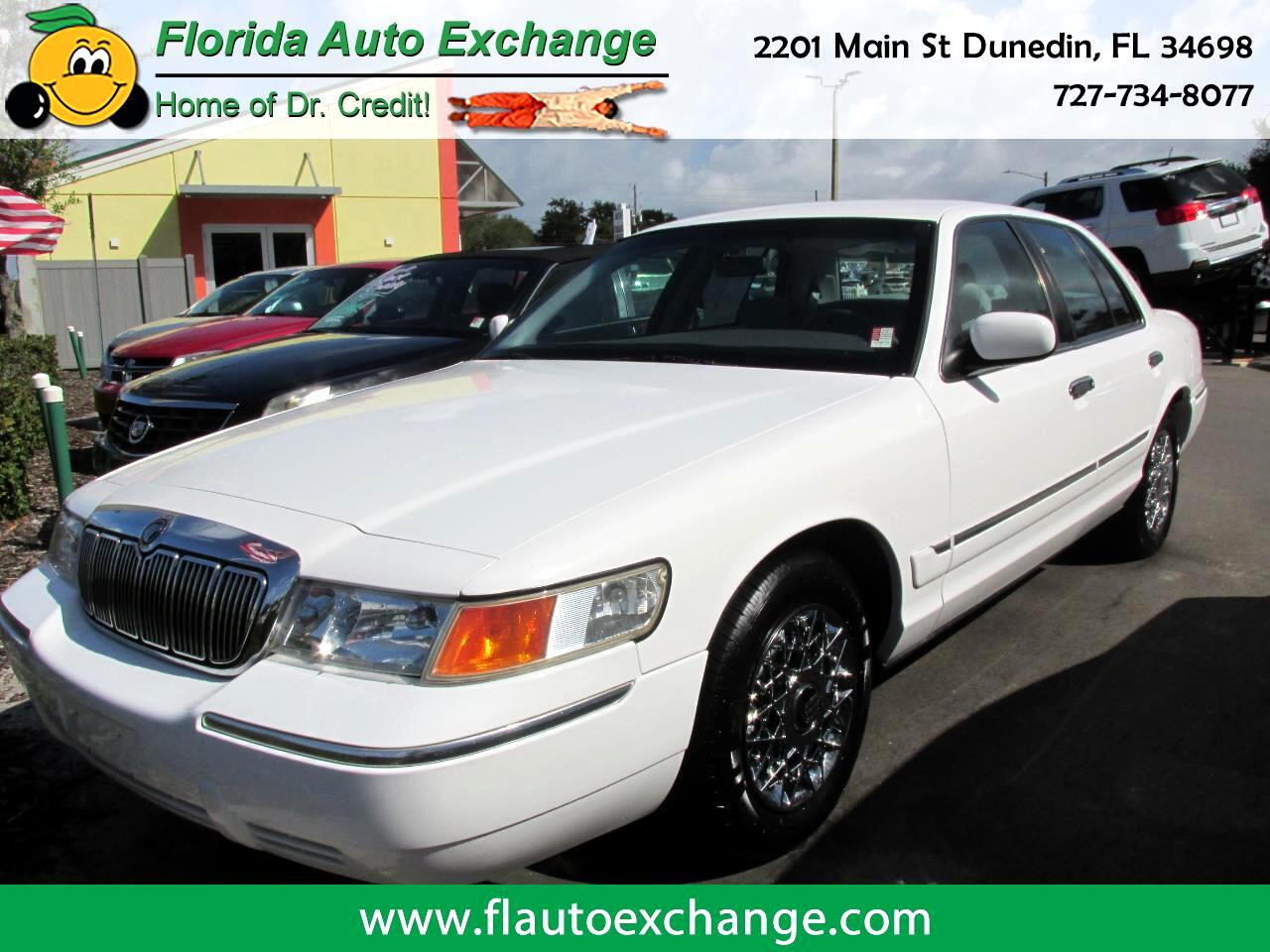 Mercury Grand Marquis 4dr Sdn GS 1999