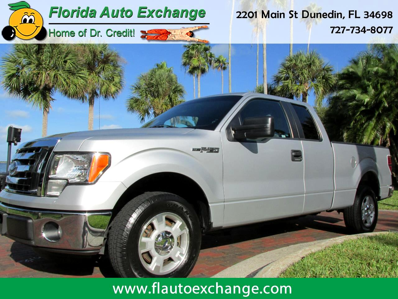 "2012 Ford F-150 2WD SUPERCAB 145"" XLT"