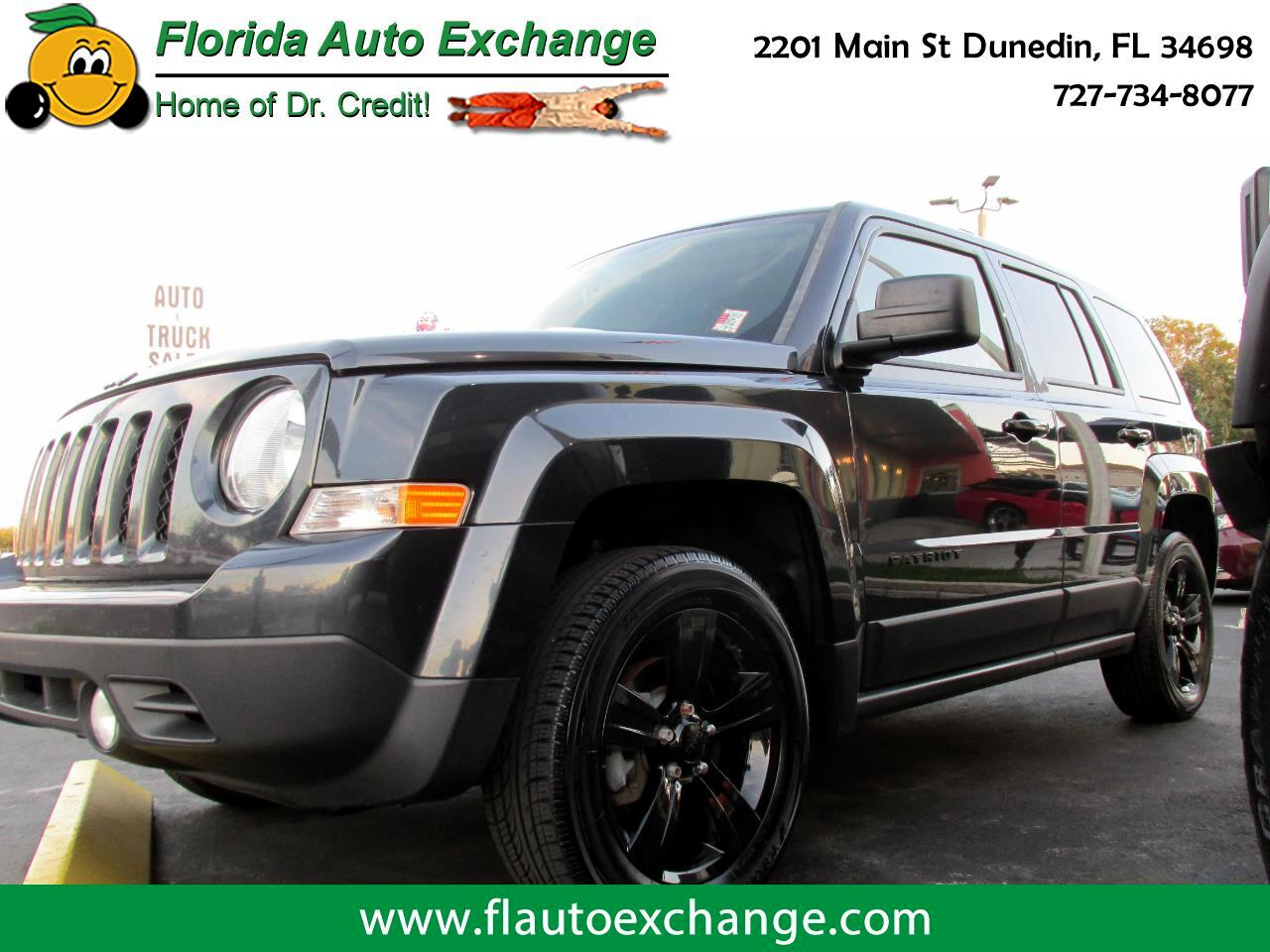 Jeep Patriot FWD 4dr Altitude Edition 2015