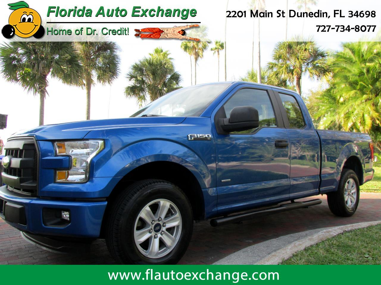 "Ford F-150 2WD SuperCab 145"" XL 2015"