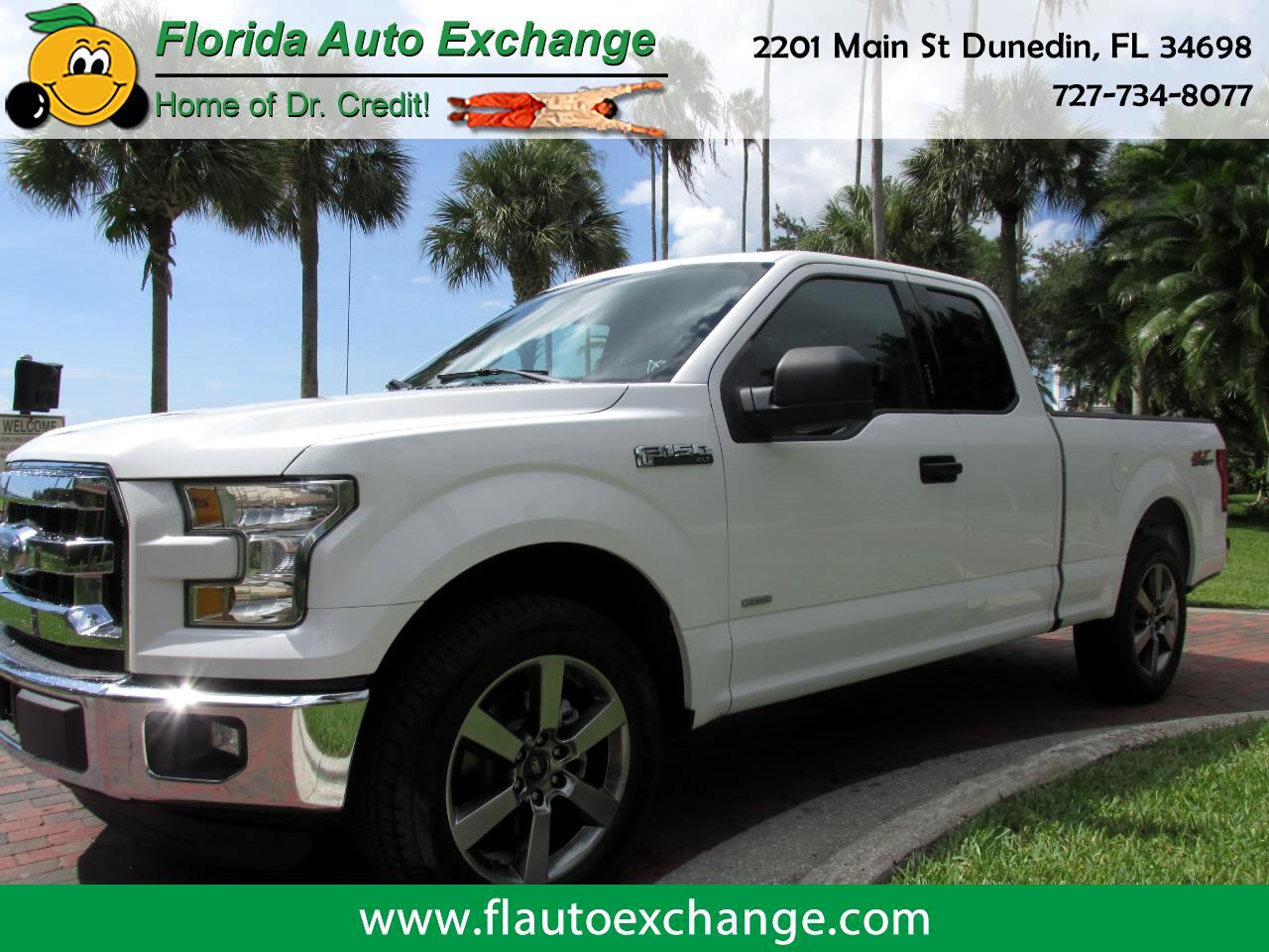 "Ford F-150 2WD SuperCab 145"" XLT 2016"